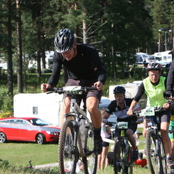 Cycling 90 km - Denny Brobeck (6836), Anette Lundeberg (7074)