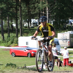 Cycling 90 km - Alf Renvall (7033)