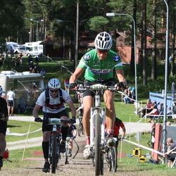 Cycling 90 km - Åke Jonasson (6063), Henrik Flordal (8837), Magnus Dahlblom (10387)