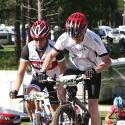 Cycling 90 km - Åke Svensson (6786), Kjell-Arne Persson (7349)