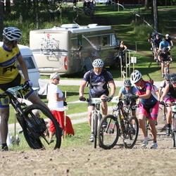 Cycling 90 km - Christian Ek (7084), Per Larsson (7319), Frida Ageborg Ollandt (7937)