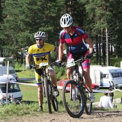 Cycling 90 km - Christian Ek (7084), Jenny Ingemarsdotter Ek (7094)
