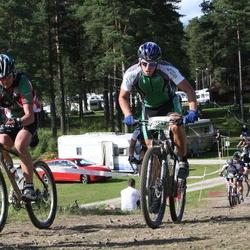 Cycling 90 km - Anders Södermark (8649), Björn Norén (9542)
