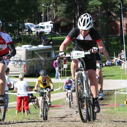 Cycling 90 km - Anne-Charlotte Törn (7276), Henrik Sahlqvist (10285)