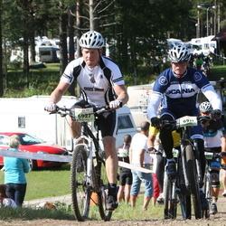Cycling 90 km - Jan-Erik Sundlöf (6911), Dennis Pantmann (6927)