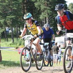 Cycling 90 km - Margareta Benson (9637), Daniel Blomgren (9909)