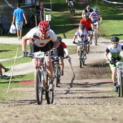 Cycling 90 km - Mariann Tillerkvist (8525), Fredrik Fast (8974)
