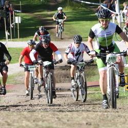 Cycling 90 km - Elvis Domazetovski (7744), Mariann Tillerkvist (8525), Jerker Gustafsson (10508)