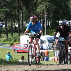 Cycling 90 km - Pernilla Brandt (7187), Jens Agebrink (8096)