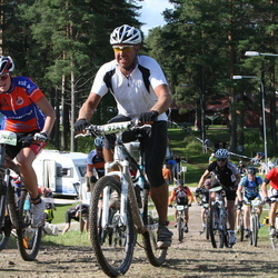 Cycling 90 km - Cecilia Wilson (6915), Anders Tedenlind (9243)