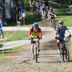 Cycling 90 km - Daniel Jakobsson (9834), Patrik Hansson (9913)