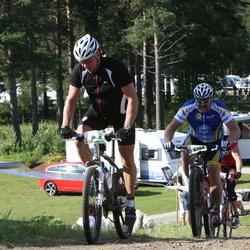 Cycling 90 km - Mikael Kvarnström (7436), Henrik Ekeson (8388)