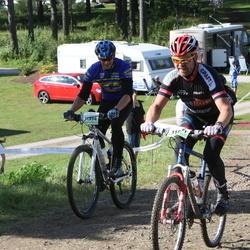Cycling 90 km - Anders Nordlund (11354), Erik Lundborg (11871)