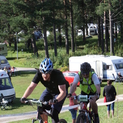 Cycling 90 km - Hans Martin Thomasse Lukerstuen (9088), Henrik Lundgren (10160)