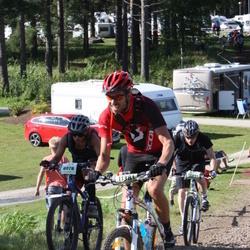 Cycling 90 km - Elisabeth Fresk (8078), Erik Fredriksson (11381)