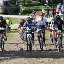 Cycling 90 km - David De La Rosa (10544), Henrik Lönn (13083), Stefan Forss (13586)