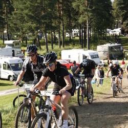 Cycling 90 km - Henrik Norin (9017), Sofia Pettersson (9090)