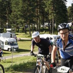 Cycling 90 km - Christoffer Johansson (9208), David Larsson (9930)