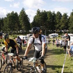 Cycling 90 km - Henrik Hasselbalch (9433), Hanna Sandelowsky (13747)