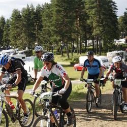Cycling 90 km - Therese Liljegren (8017), Christina Norén (9727)
