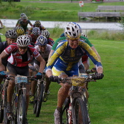 Cycling 90 km - Alexandra Engen (304), Fredrik Berg (560)