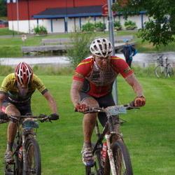 Cycling 90 km - Jens Bergström (37), Mikko Partanen (50)