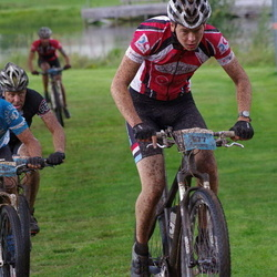 Cycling 90 km - Conny Carlsson (577), Carl-Anders Fåglum (580)