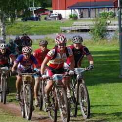 Cycling 90 km - Alexandra Engen (304), Tom Vingård (837), Henriette Brynthe (1109)