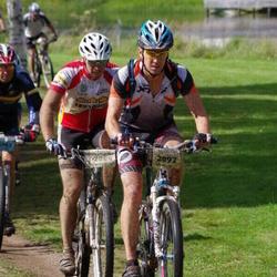 Cycling 90 km - Christian Tenggren (2084), Björn Nordh (2092)