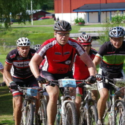Cycling 90 km - Anders Juhlin (156), Tomas Jansson (822), Erik Eriksson (2044)