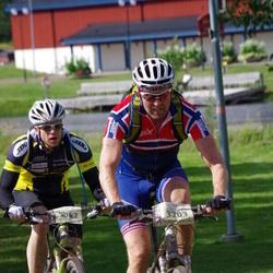 Cycling 90 km - Daniel Lindberg (3042), Øyvind Skarholt (3203)