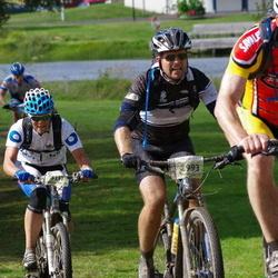 Cycling 90 km - Anders Jensen (2319), Johan Söderström (2993), Gro Solveig Kateraas (3117)