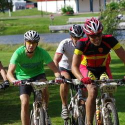 Cycling 90 km - Henrik Arrhenius (2974), Joakim Jonsson (3053), Kent Schram (3272)