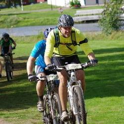 Cycling 90 km - Erik Blomström (2732), Anders Clarström (3128)