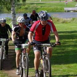 Cycling 90 km - Jonny Isacson (2479), Fredrik Lejon (2782)