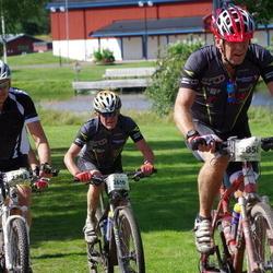 Cycling 90 km - Morten Sjulsen (2343), Arne Bergström (2610), Knut Mikkelsen (2858)