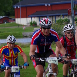Cycling 90 km - Erik Nafstad (2399), Fredrik Juslin (2734)