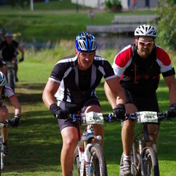 Cycling 90 km - Henrik Nilsson (2418), Patrik Rådström (3085)