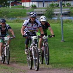 Cycling 90 km - Åke Lissmats (3541), Ari Partanen (3556)