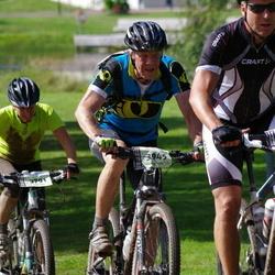 Cycling 90 km - Peter Håkansson (3319), Christina Ryngevall (3791), Herman Petrusson (3945)