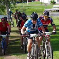 Cycling 90 km - Stig Johansson (2797), Anders Lindgren (3075), Bosse Svensson (3817)