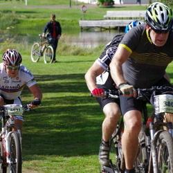 Cycling 90 km - Rune Gerdtman (3801), Emil Grankvist (4631)