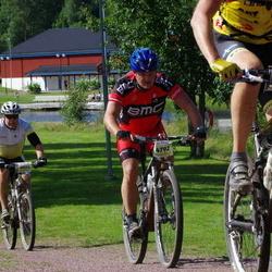 Cycling 90 km - Lars Sandström (4020), Henrik Ahlning (4792)