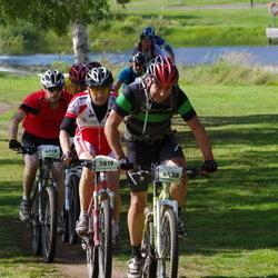 Cycling 90 km - Jan Erik Prestrud (3819), Espen Glosli (4437), Jonas Eriksson (4719)