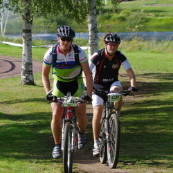 Cycling 90 km - Henrik Blomquist (4220), Jan Endre Gressberg (4623)