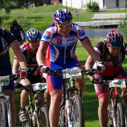 Cycling 90 km - Tohmas Ax (2380), Börje Lindberg (3585), Christian Dorch (4003)