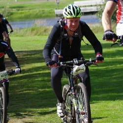 Cycling 90 km - Lars-Inge Sandgren (4014), Andreas Andersson (4528)
