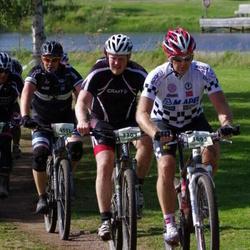 Cycling 90 km - Mattias Jonsson (3303), Harry Hellebust (3692), Henrik Löfgren (4551)