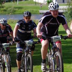 Cycling 90 km - Mattias Jonsson (3303), Henrik Löfgren (4551)