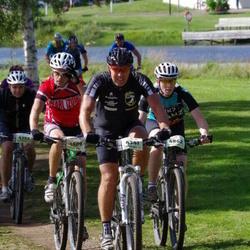 Cycling 90 km - Per Hellmén (4341), Tomas Josefsson (4509), Henrik Persson (4862)